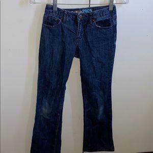Gap Kids 1969 Girl's Boot Cut Jeans (Size 12)
